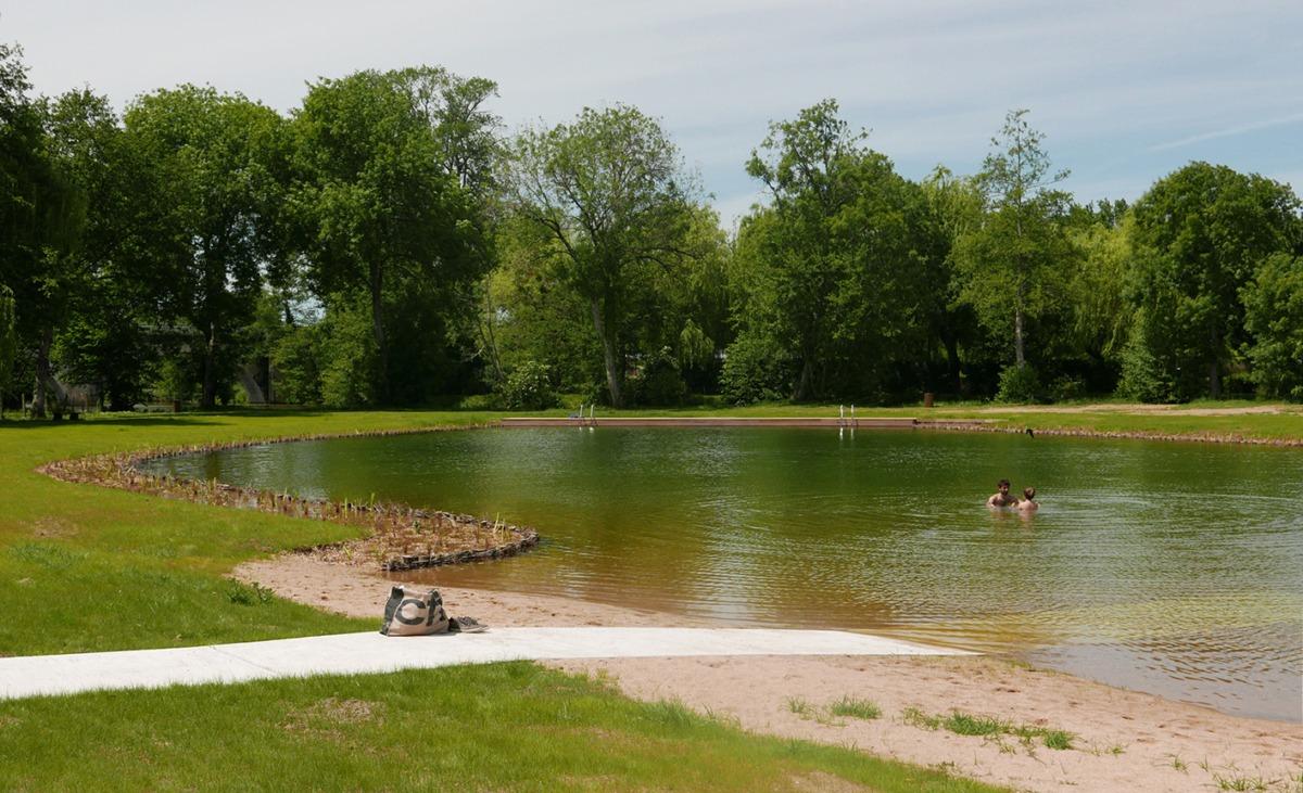 Bélâbre : Bassin de baignade