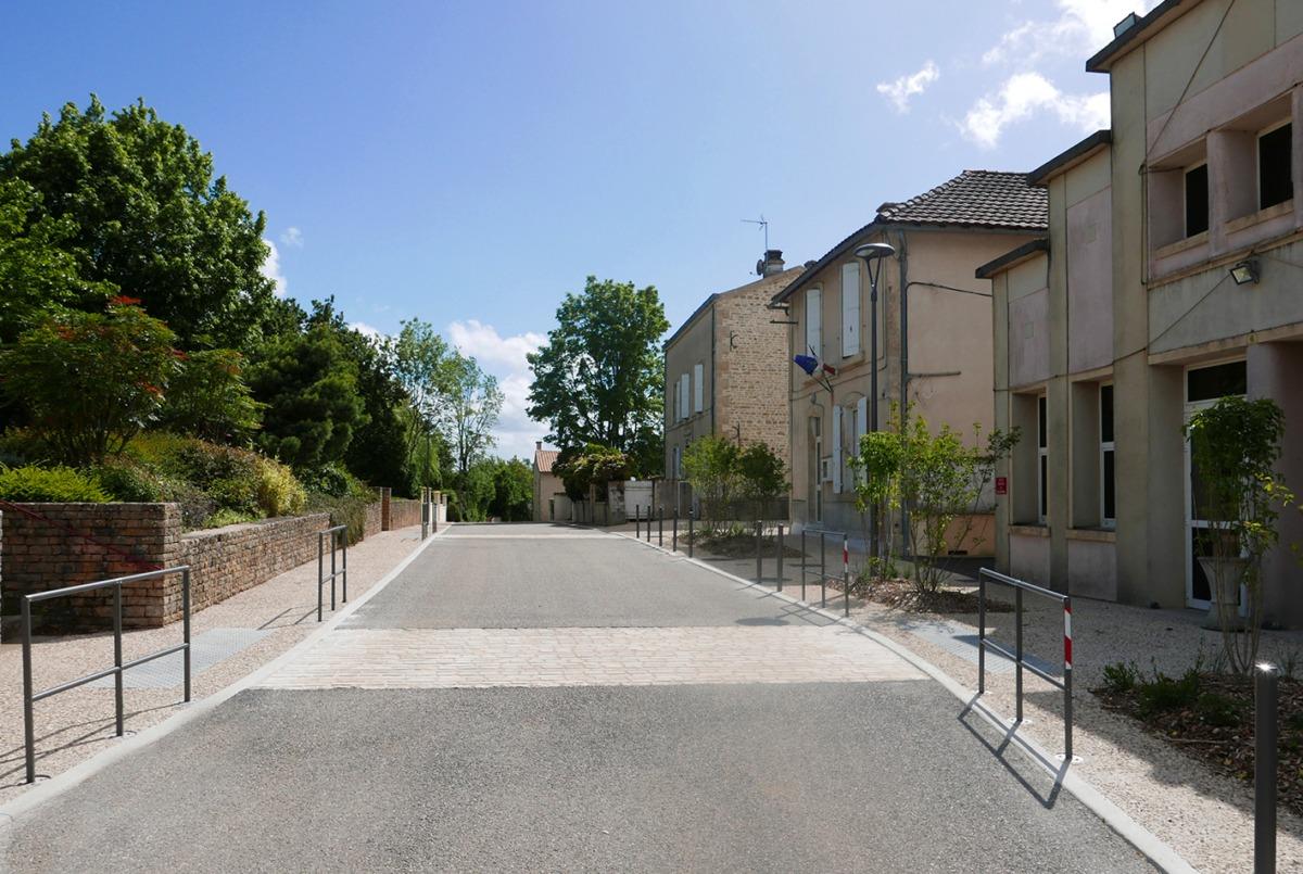 Prailles : Centre-bourg